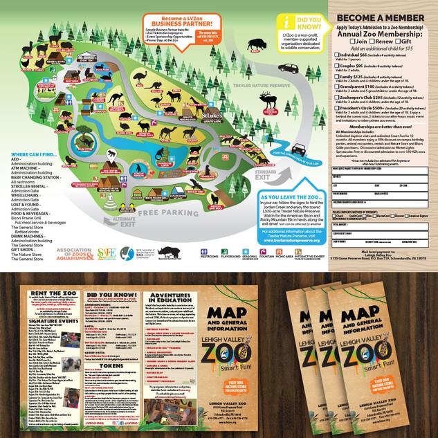 Zoo Map Brochure