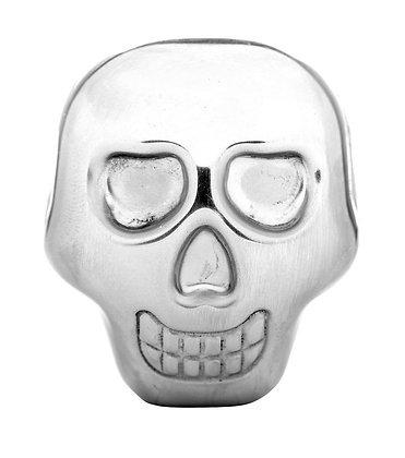 Sagaform Skull Head Stainless Steel Drink Stones