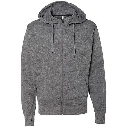 Poly-Tech Full-Zip Hooded Sweatshirt