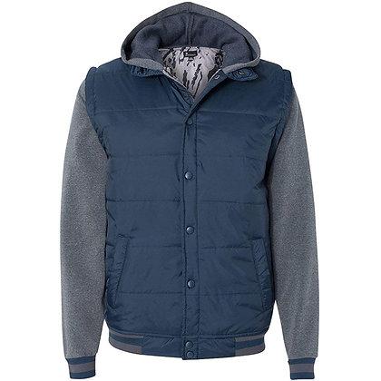 Vest w/ Fleece Sleeves