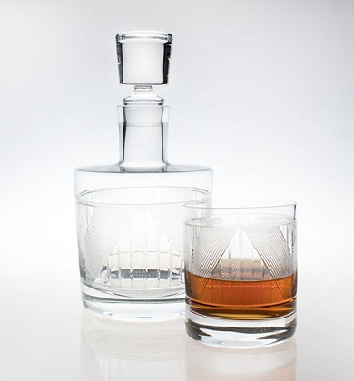 Bleecker Street Whiskey Decanter