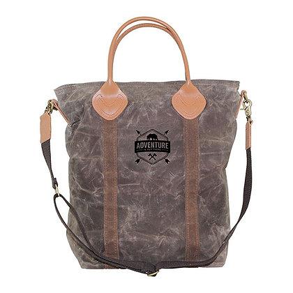 Waxed Canvas Flight Travel Bag Solid Olive & Khaki