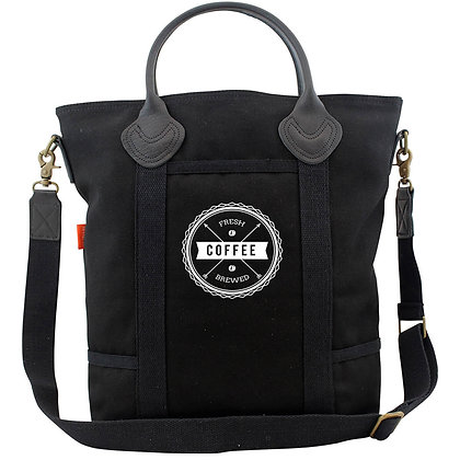 Flight Travel Bag Solid Black