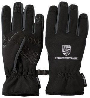 Winter Lined Black Touchscreen Hi-Tech Gloves