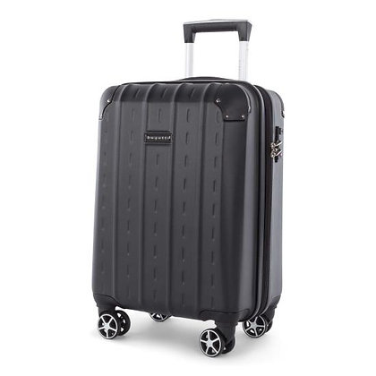 NEW YORK - LIGHTWEIGHT HARDSIDE CARRY-ON WITH INTEGRATED USB PORT - BLACK