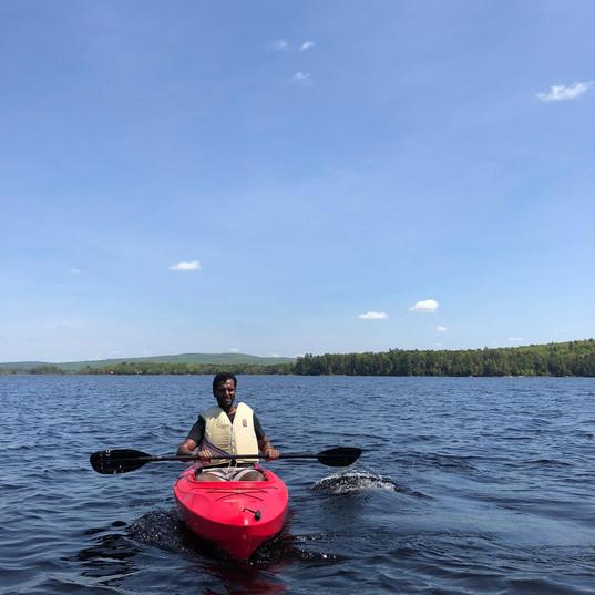 Kayak break!