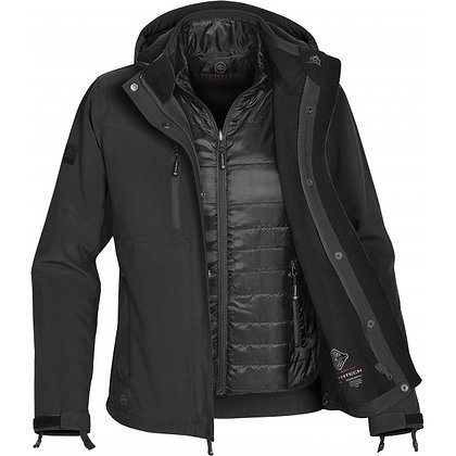 Womens 3 in 1 systems jacket