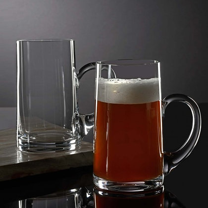 Waterford Elegance Beer Mug, Pair