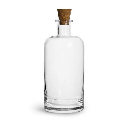 Sagaform Glass Beverage Carafe with Cork