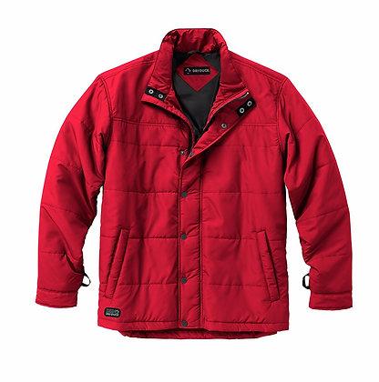 Transverse storm shell jacket