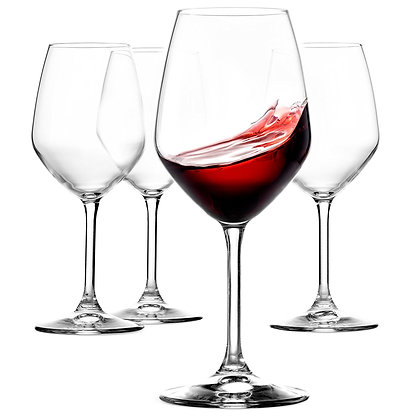 Supreme Burgundy XL | Set of 4 Glasses