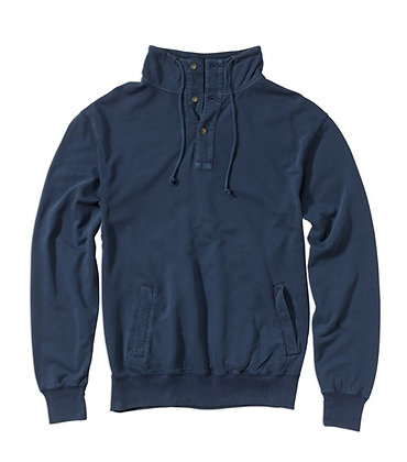 Placket Sweatshirt