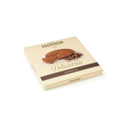 Dolcetorta wafer gr.330 fondente,nocciola,pistacchio,gianduia