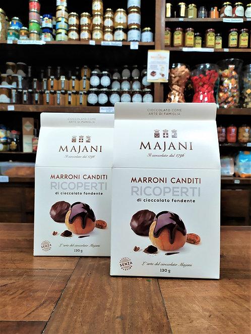 Marrons glaces ricoperti cioccolato gr.130