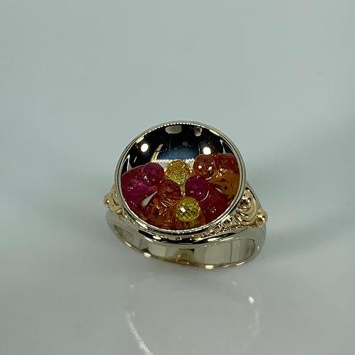 14k Candy Bowl Ring