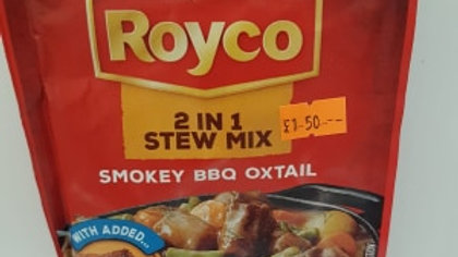 Royco 2 in 1Stew Smokey BBQ oxtail