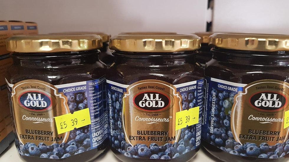 All Gold Blueberry Extra Fruit Jam