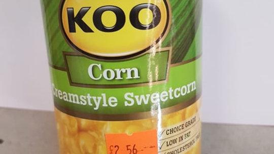 Koo Corn Creamstyle Sweetcorn