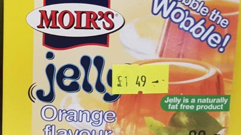 Moir's Jelly Orange Flavour