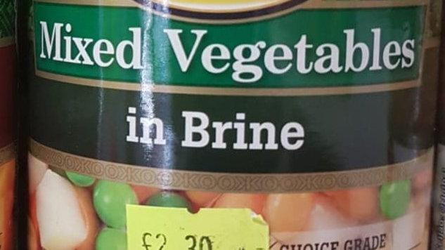 KOO Mixes Vegetables in Brine