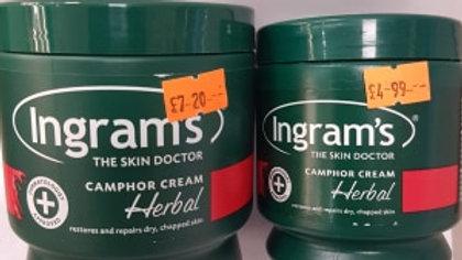 Ingram's Camphor Cream Herbal 300ml