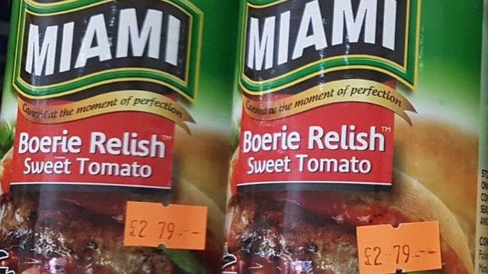 Miami Boerie Relish Sweet Tomato