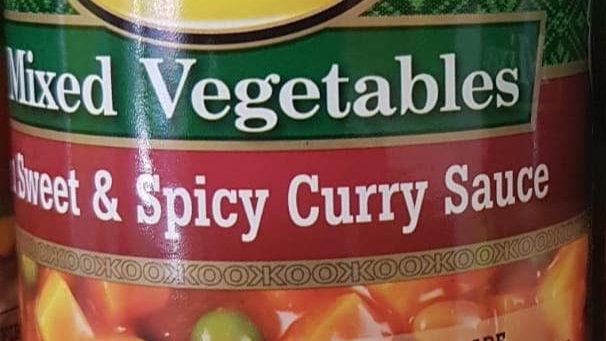 KOO Mixes Vegetables Sweet & spicy Curry Sauce