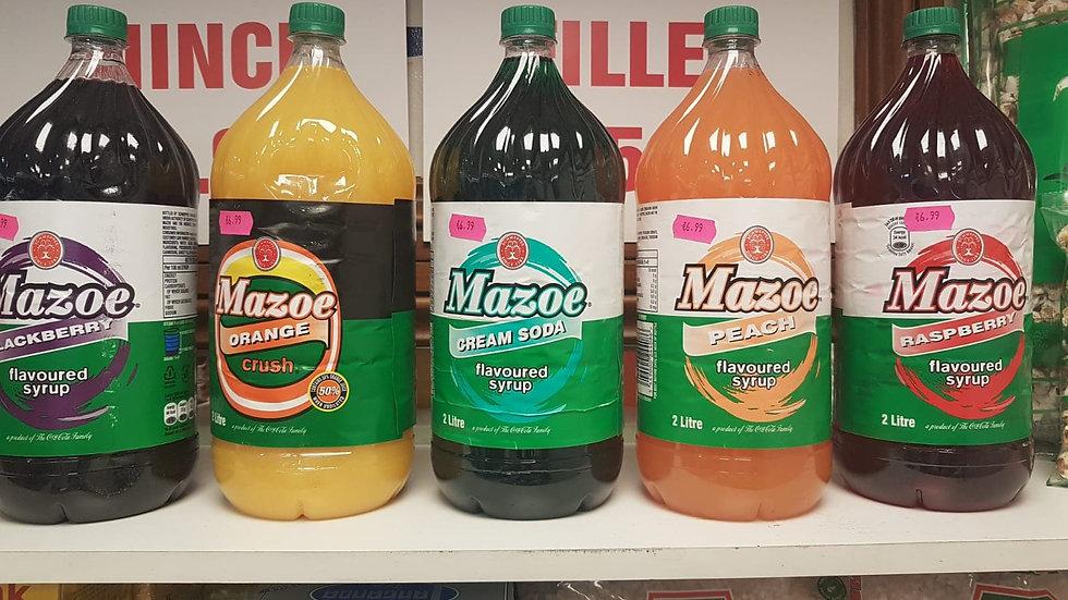 Mazoe 2 litre