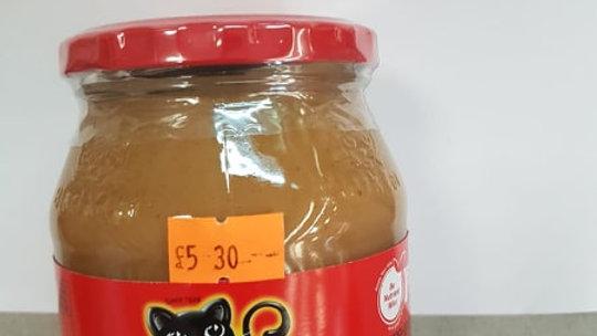 Black Cat Smooth Peanut butter 400g