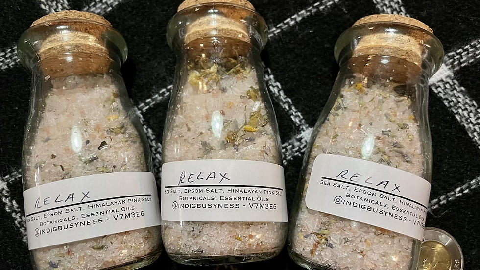 IndigBusyness Bath Salts