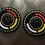 Thumbnail: Flying Eagle Beaded Earrings