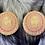 "Thumbnail: ""Wolf"" Flying Eagle Beaded Earrings"