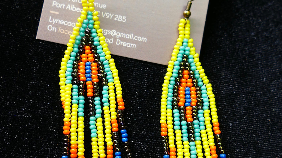 Bead Dream beaded earrings