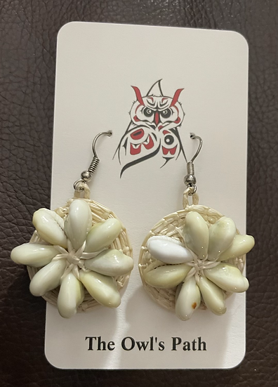Marshallese hand-made Earrings