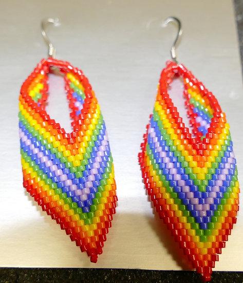 Delica Ribbon Earrings