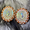 Thumbnail: Flying Eagle Beaded Earrings