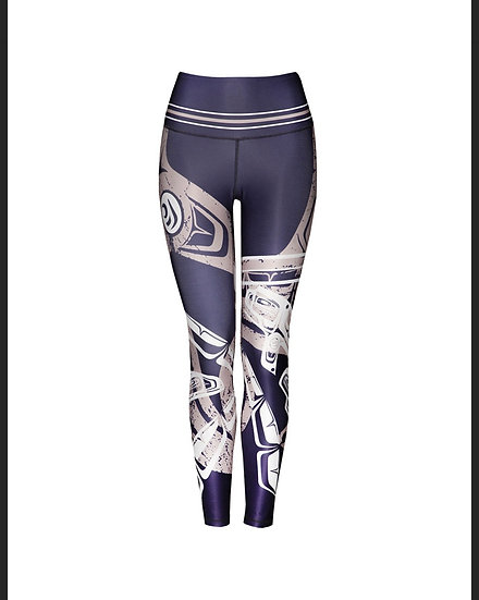 Whale Blue Legging