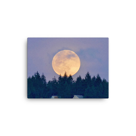 Super Moon Canvas