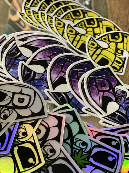 Wu-tang Stickers