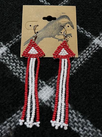 IndigBusyness Beaded Earrings