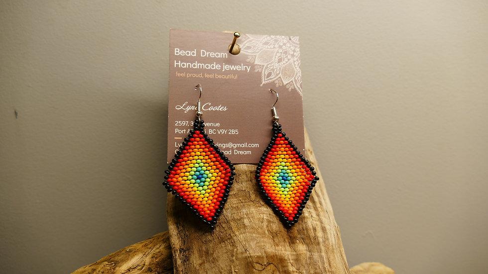 Bead Dream beaded earrings