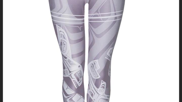 Whale Mauve Legging
