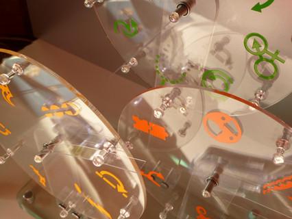 Acrylic Wheels of Innovation