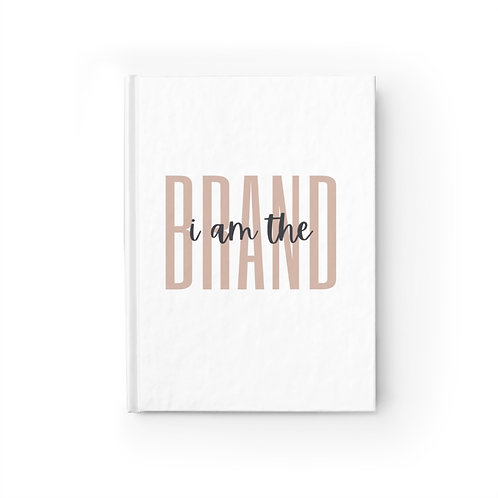I Am the Brand Journal - Ruled Line