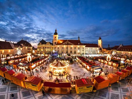 Târgul de Crăciun de la Sibiu își deschide astăzi porțile