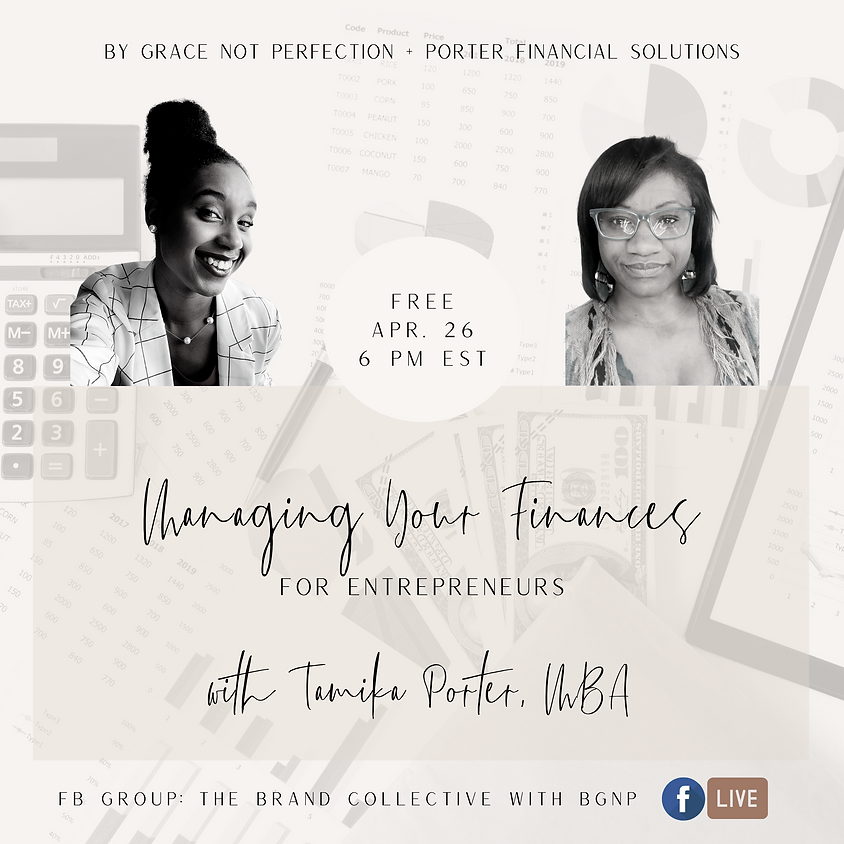 Brand Collab: Managing Your Finances ft. Porter Financial Services LLC