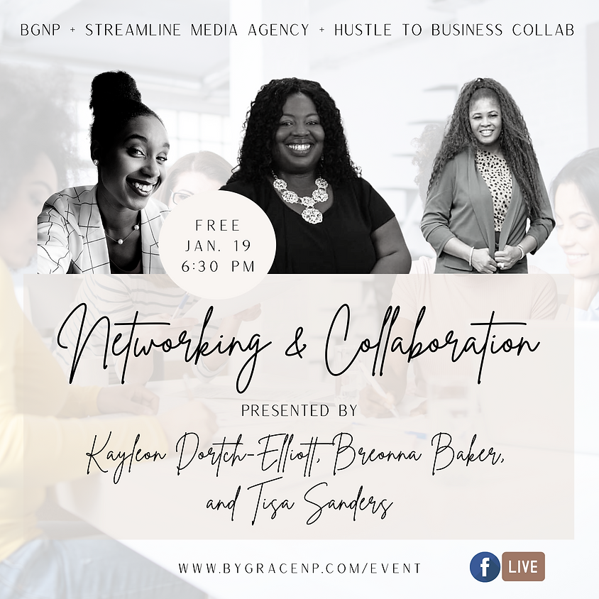 Brand Collab: Networking & Collaboration ft. Streamline Media + Hustle to Business Coaching