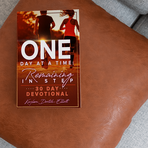 """One Day at a Time: Remaining in Step"" 30-Day Devotional"