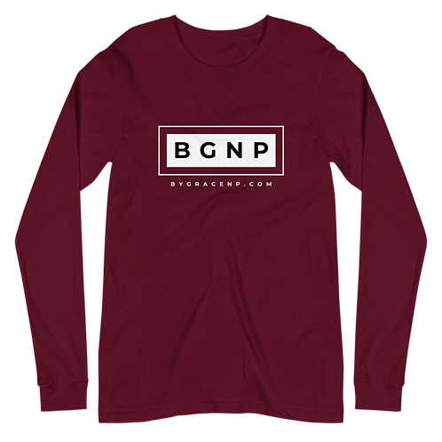 BGNP Block Unisex Long-Sleeve Tee (Assorted Colors)