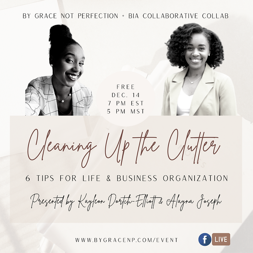 Brand Collab: Cleaning Up the Clutter ft. The BIA Collaborative